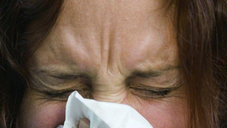 Schnupfen: Sieben Tage halten die Erkältungssymptome meist an