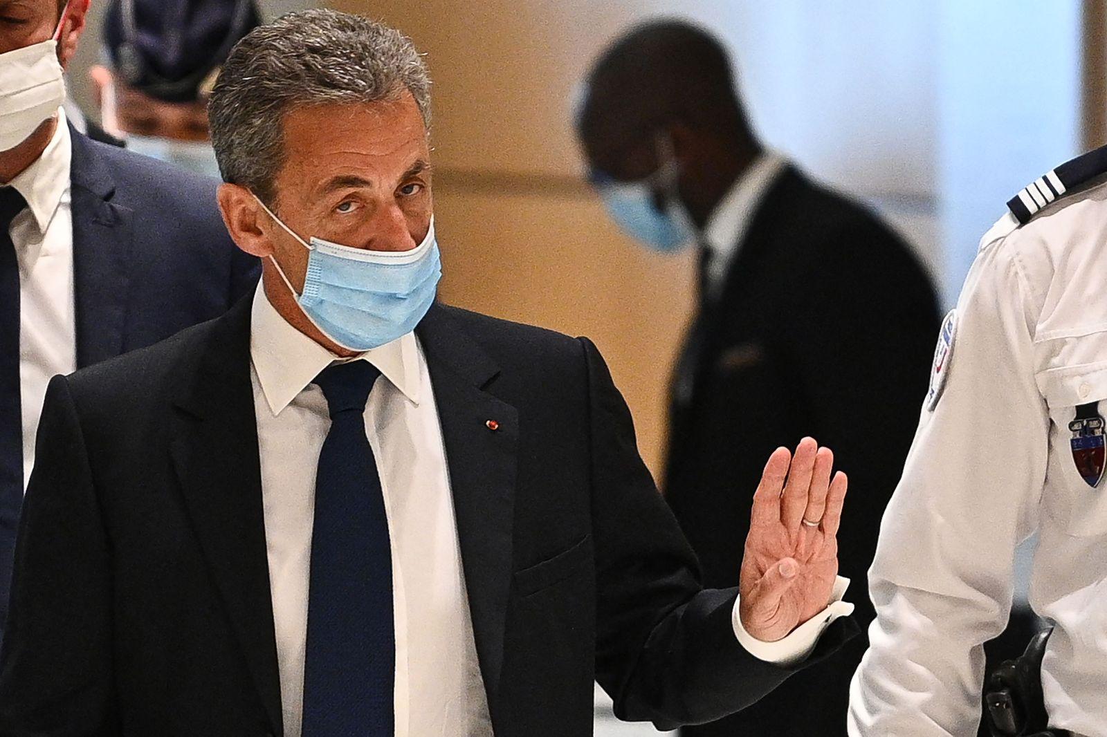 FRANCE-TRIAL-CORRUPTION-SARKOZY