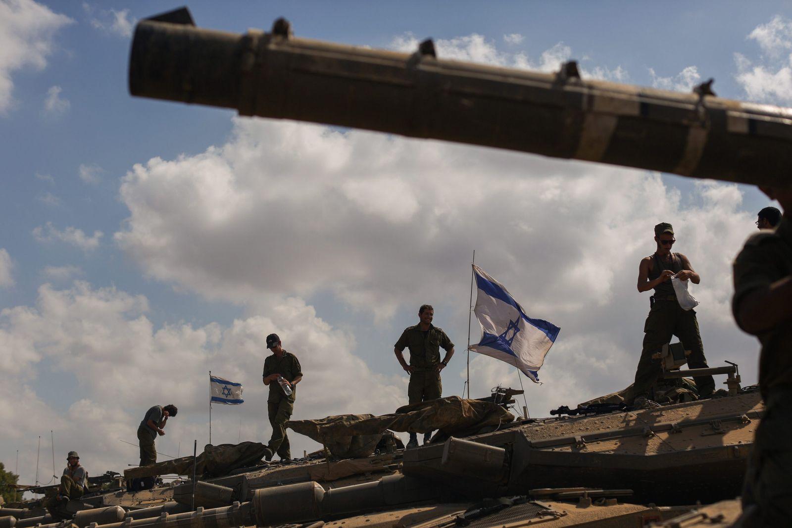 Israel / Gaza/ Soladaten