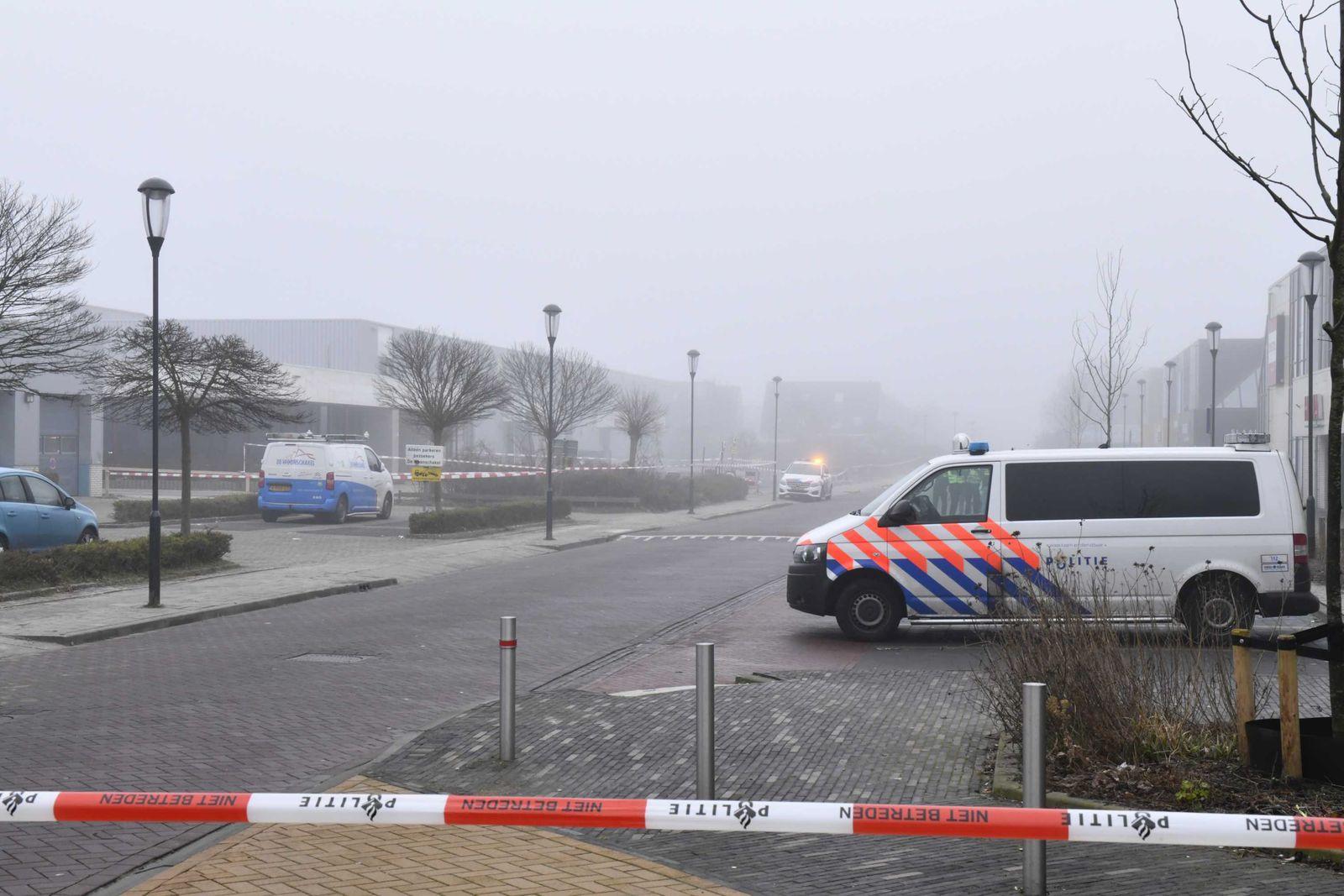 Explosion near Dutch Covid-19 test center