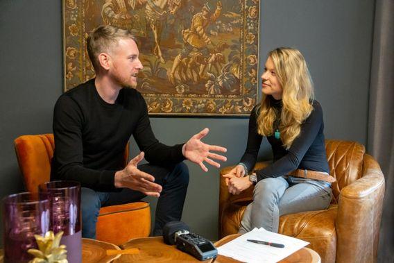 eShot-Mitgründer Christian Thum im Gespräch mit Sandrina Lorenz