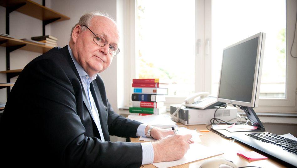 """Jurist Löwer: """"Fast überall hat Zeit heilende Kraft"""""""