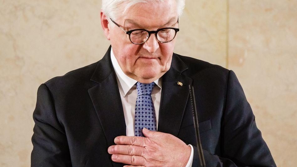 Frank-Walter Steinmeier: »Für diese menschenverachtende Tat wird er durch den Rechtsstaat zur Verantwortung gezogen«