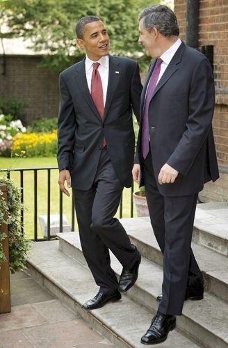 """Obama mit Brown: """"Man ist immer populärer, bevor man das Kommando übernimmt"""""""