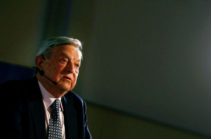 """Währungsspekulant Soros (Archivbild): """"Eine harte Landung ist unausweichlich"""""""