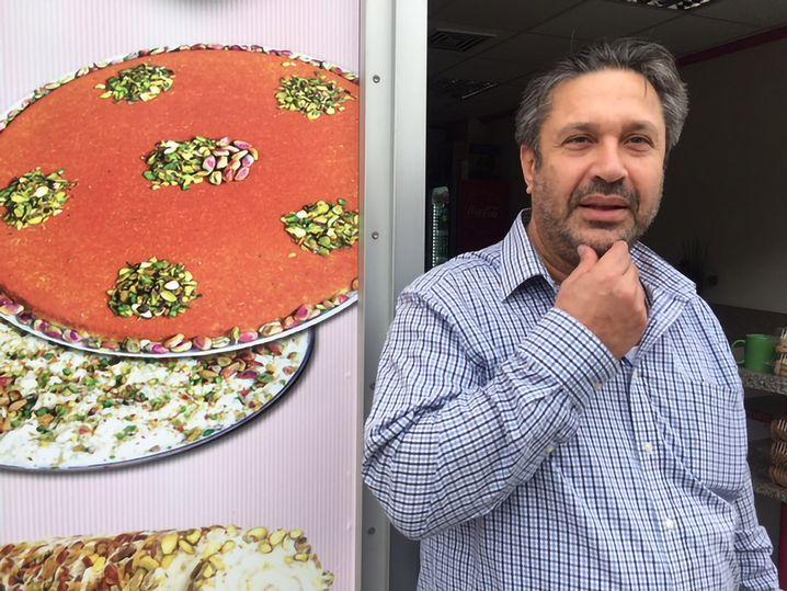 Mohammad Imad Alkhldy, Süßigkeitenhändler in Chemnitz