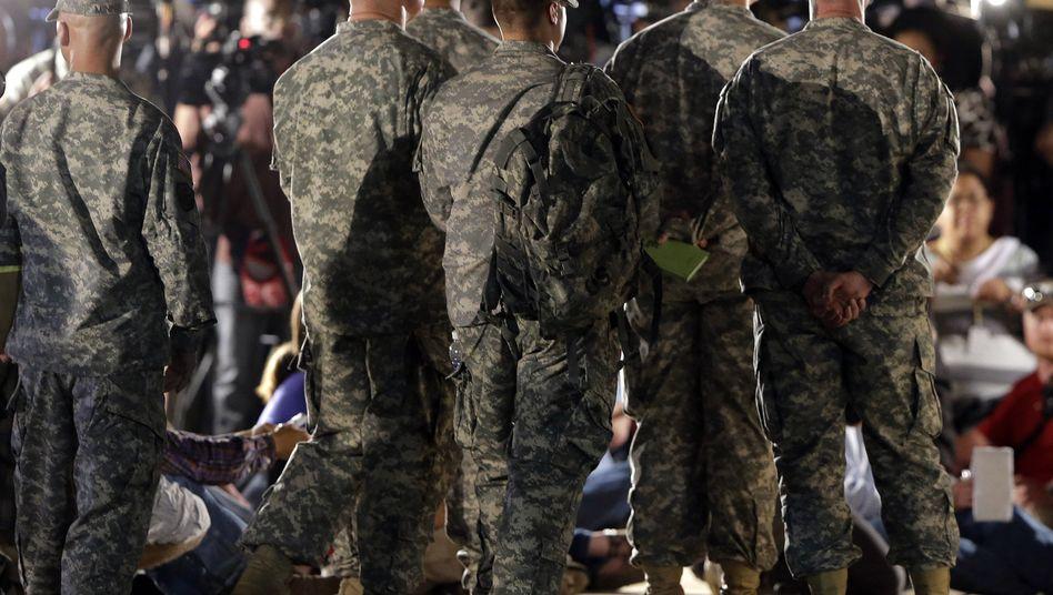 US-Soldaten in Fort Hood: Fast jeder vierte Veteran ist traumatisiert