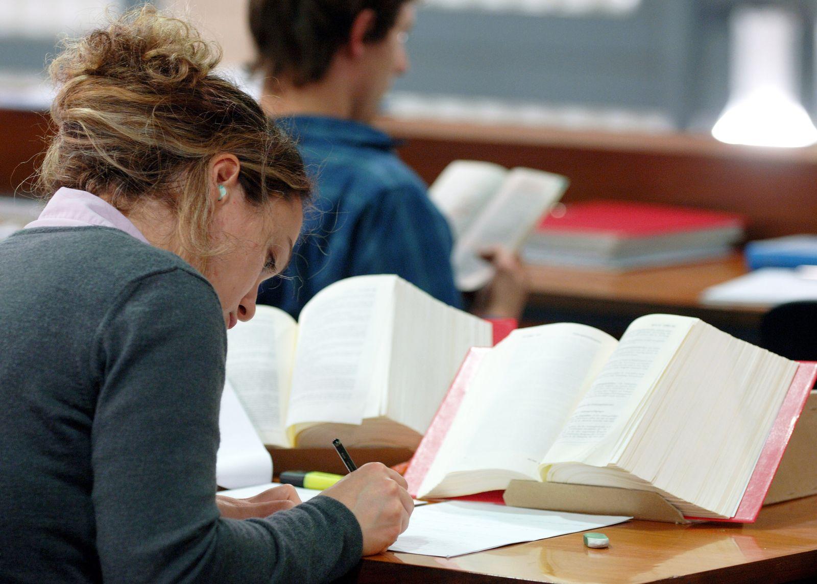 Studenten Bibliothek