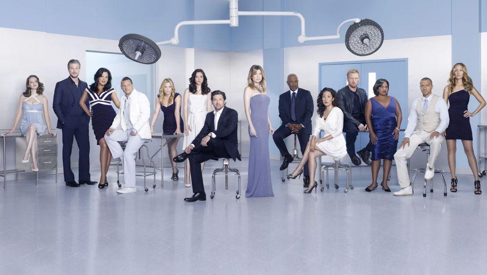 """Das Ensemble von """"Grey's Anatomy"""": Wer kann singen - und wer nicht?"""