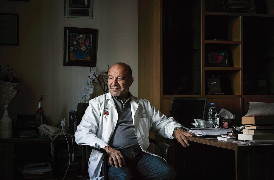 """Surgeon Mustafa Allouch: """"In 14 days, we will close everything down except for chemotherapy and a handful of emergency procedures."""""""