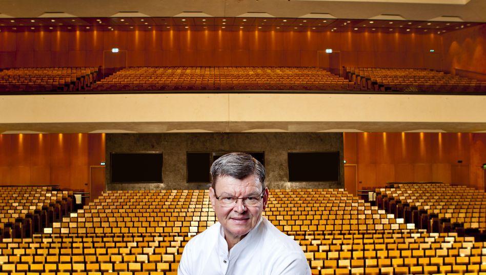 """Sternekoch Wohlfahrt im Festspielhaus Baden-Baden: """"Ich möchte nicht in der weißen Jacke rausgetragen werden"""""""