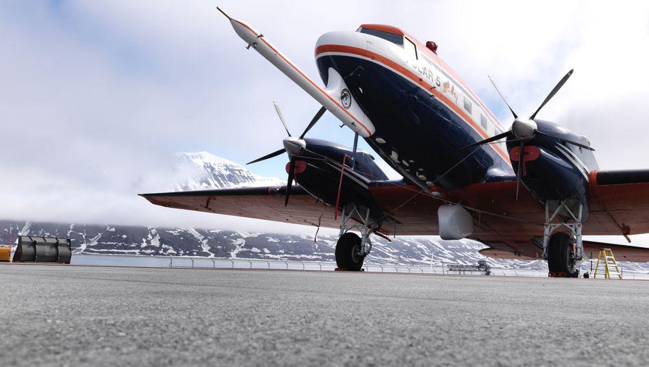 """Forschungsflieger """"Polar 5"""" auf Spitzbergen: Mit Sensoren gespickt"""