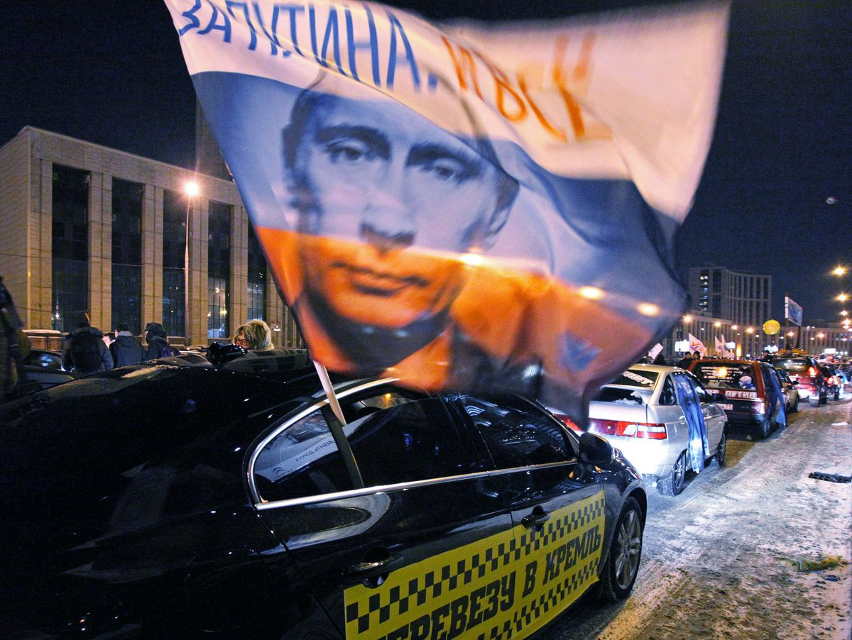Crunch Election For Putin A Divided Russia Goes To The Polls Der Spiegel
