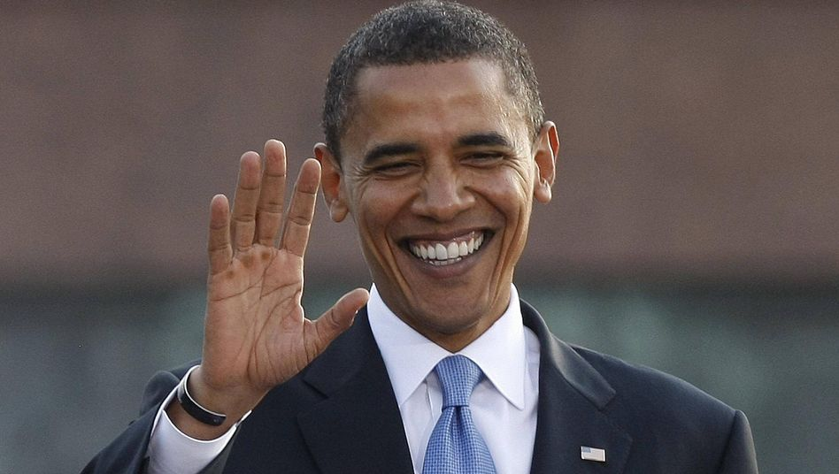 """German Chancellor Angela Merkel on the Obama pick: """"We should all support him to make world peace more possible."""""""