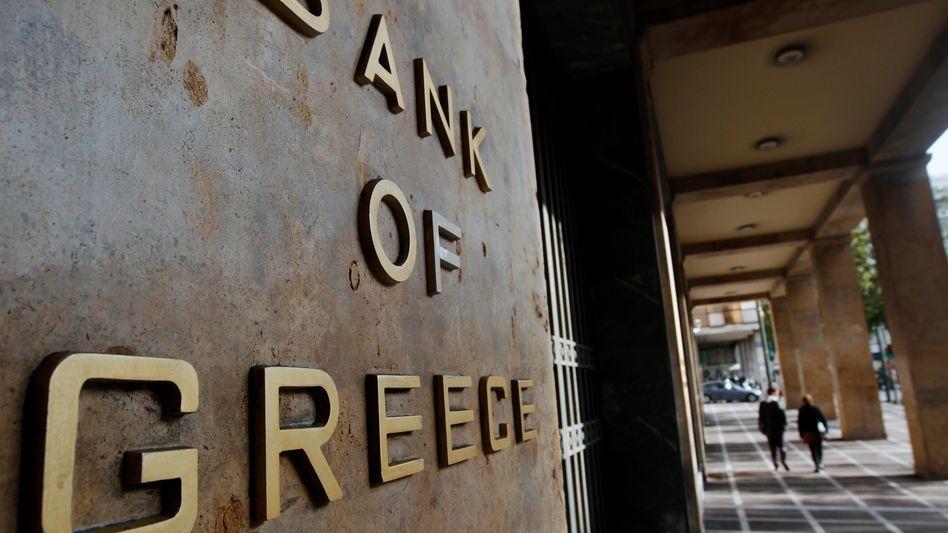 Griechische Zentralbank: Schwerer Weg aus der Schuldenspirale