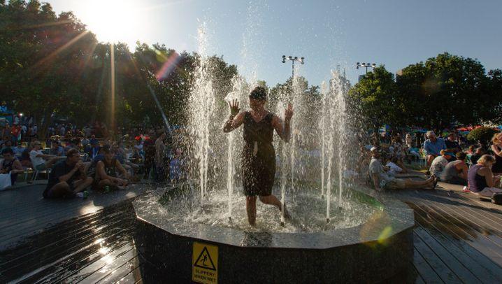 Australien: Bis zu 50 Grad in Down Under