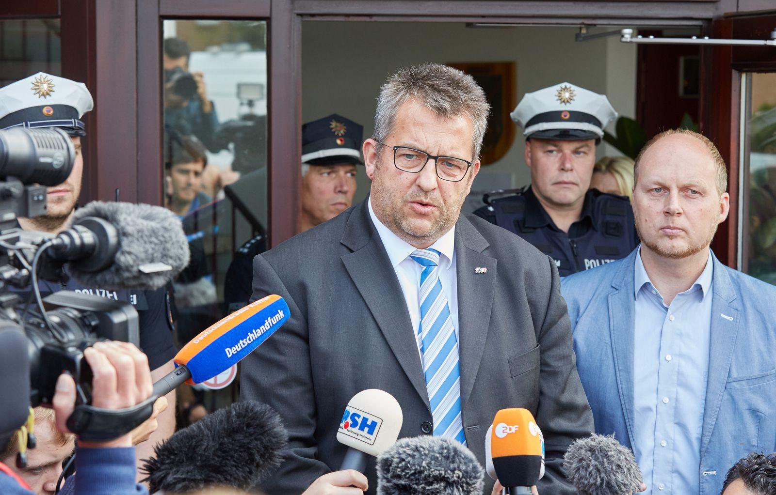 Oersdorf / Innenminister Stefan Studt