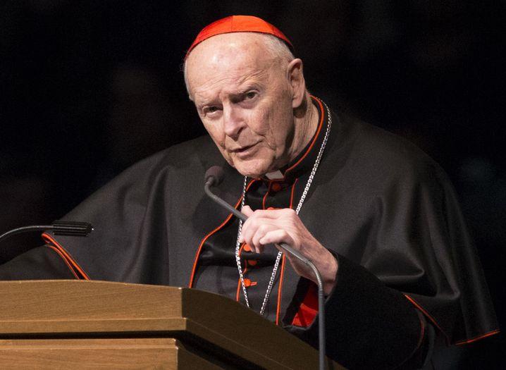 Kardinal Theodore Edgar McCarrick (Archiv)