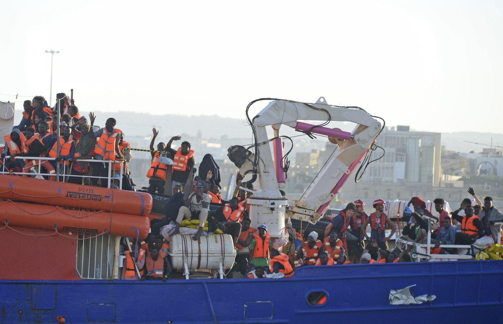 Migranten Seenot