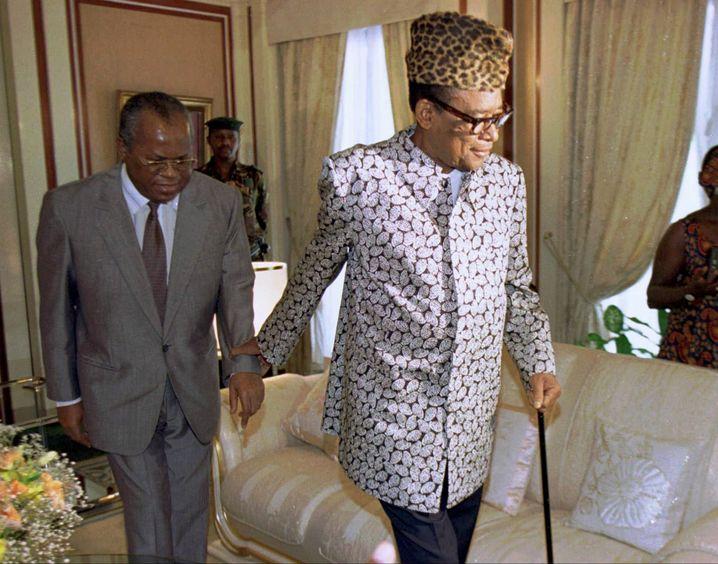Kurz vor seiner Entmachtung 1997 machte Diktator Mobutu den Oppositionellen Étienne Tshisekedi zum Premier