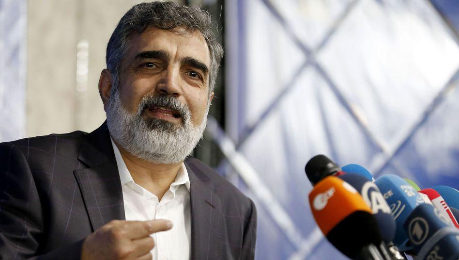 Behrouz Kamalvandi, Sprecher der iranischen Atomenergiebehörde