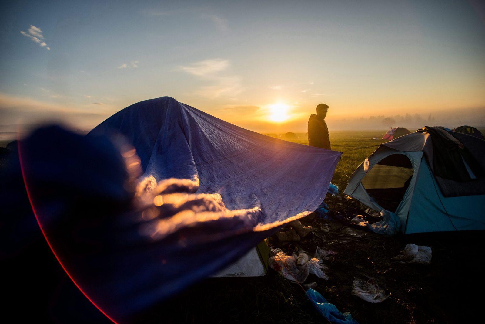 Flüchtling / Griechenland