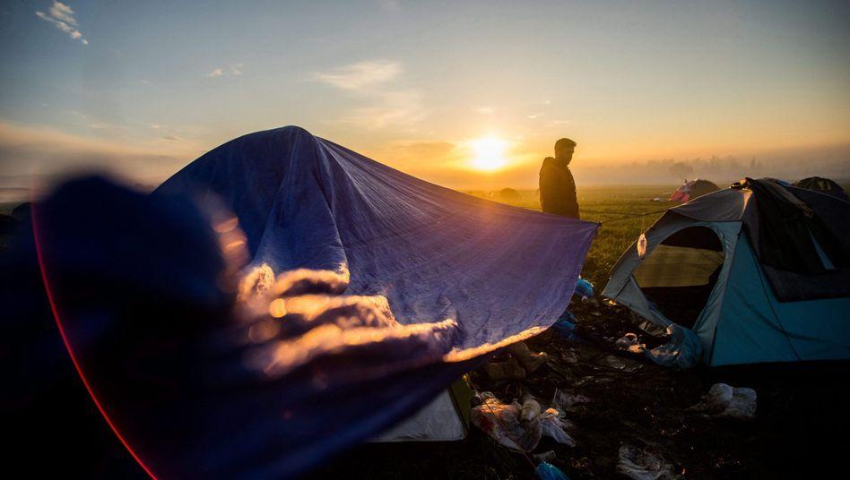 Flüchtlingscamp in Griechenland
