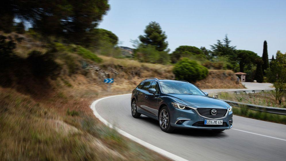 Autogramm Mazda 6: Innen geht's weiter