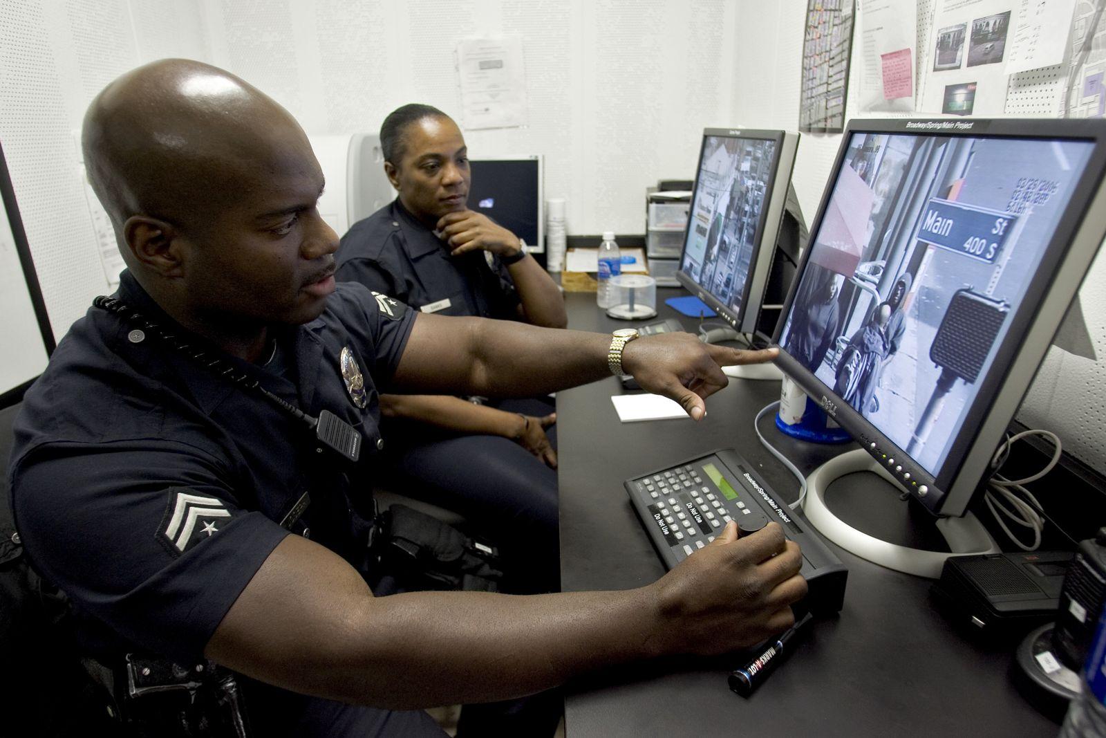 Los Angeles Police Überwachung
