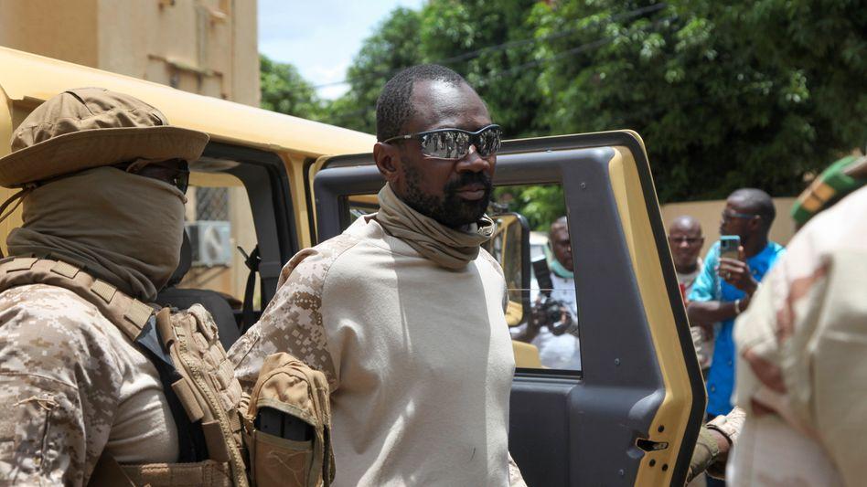 Malis Vizepräsident Assimi Goïta (2020)