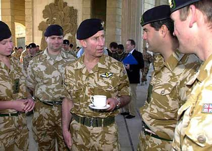 There's little time for tea in Iraq these days, and British soldiers may soon find themselves in more perilous parts of the country.