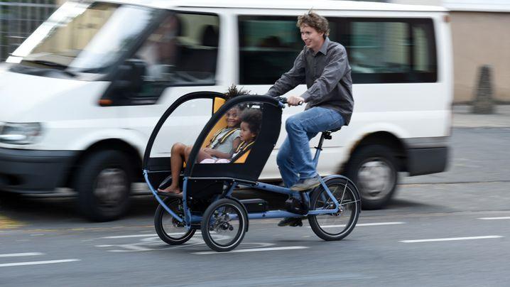 Lastenrad Chike: Dreirad für die ganze Familie