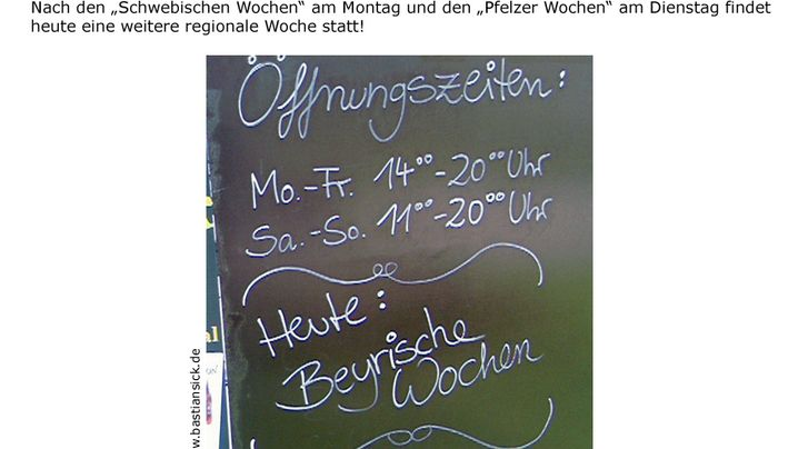 Zwiebelfischchen: Aus deutschen Landen