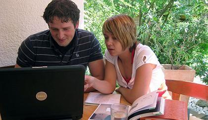 Michael Nowak: Firmengründung mit seiner Freundin