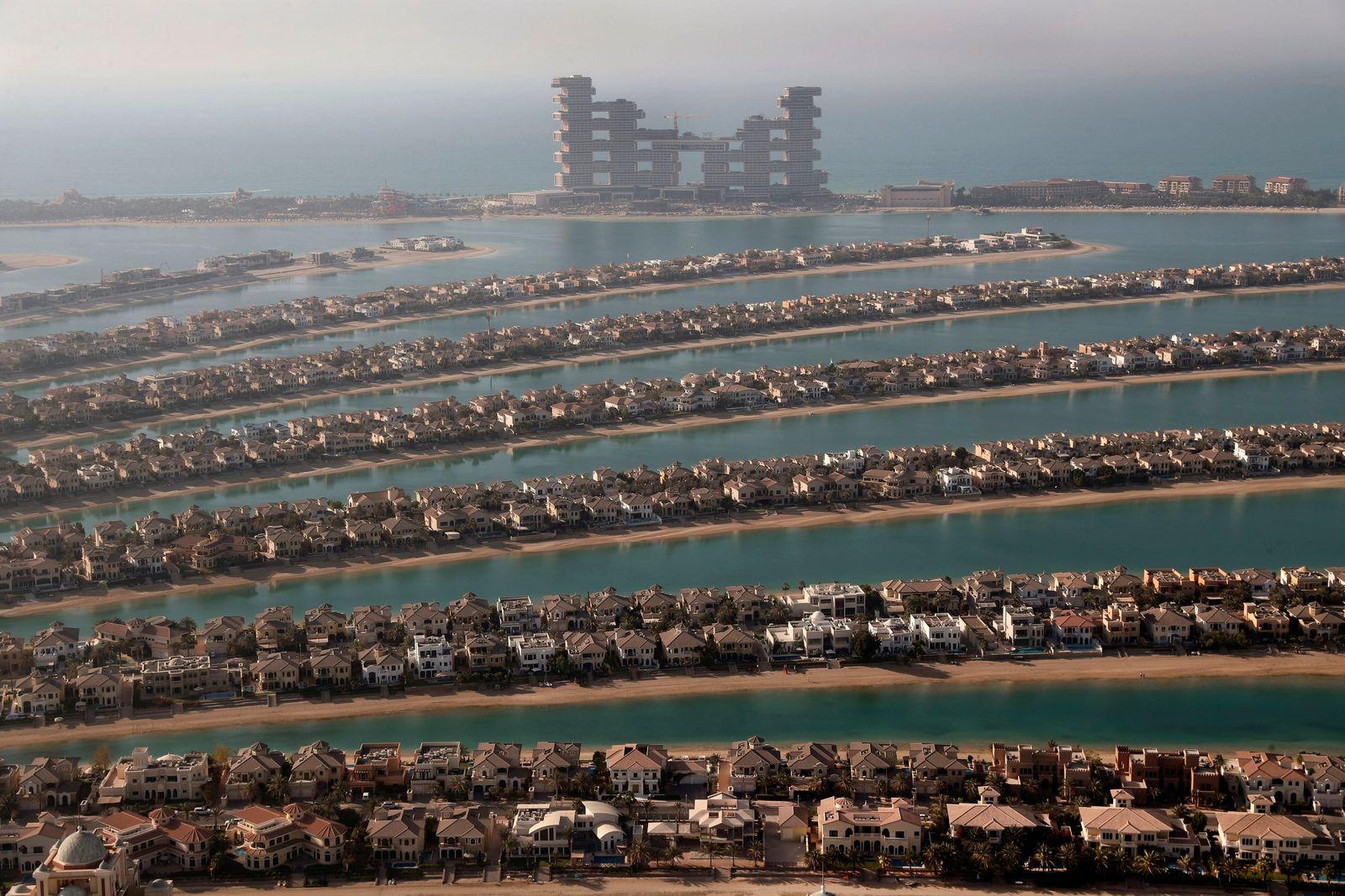 Virus Outbreak Dubai Luxury Boom