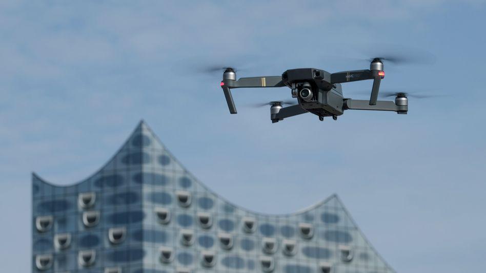 Drohne in Hamburg