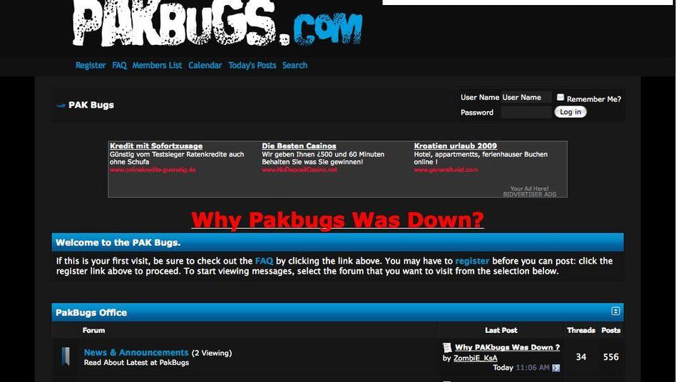 PakBugs: Hackerforum in einem Akt der Selbstjustiz gehackt
