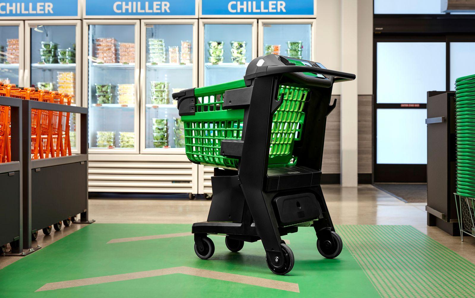 Amazon Smart Shopping Cart