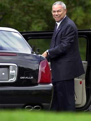 """US-Außenminister Powell: """"Nicht einmal Indizien gegen Bin Laden"""""""