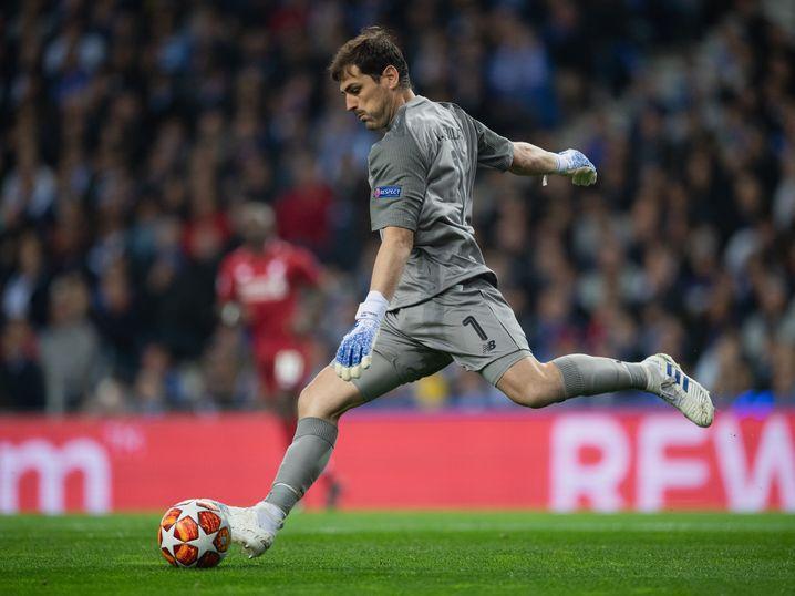 Mitte April 2019 spielte Casillas noch mit Porto in der Champions League gegen Liverpool. Kurz danach erlitt er einen Herzinfarkt