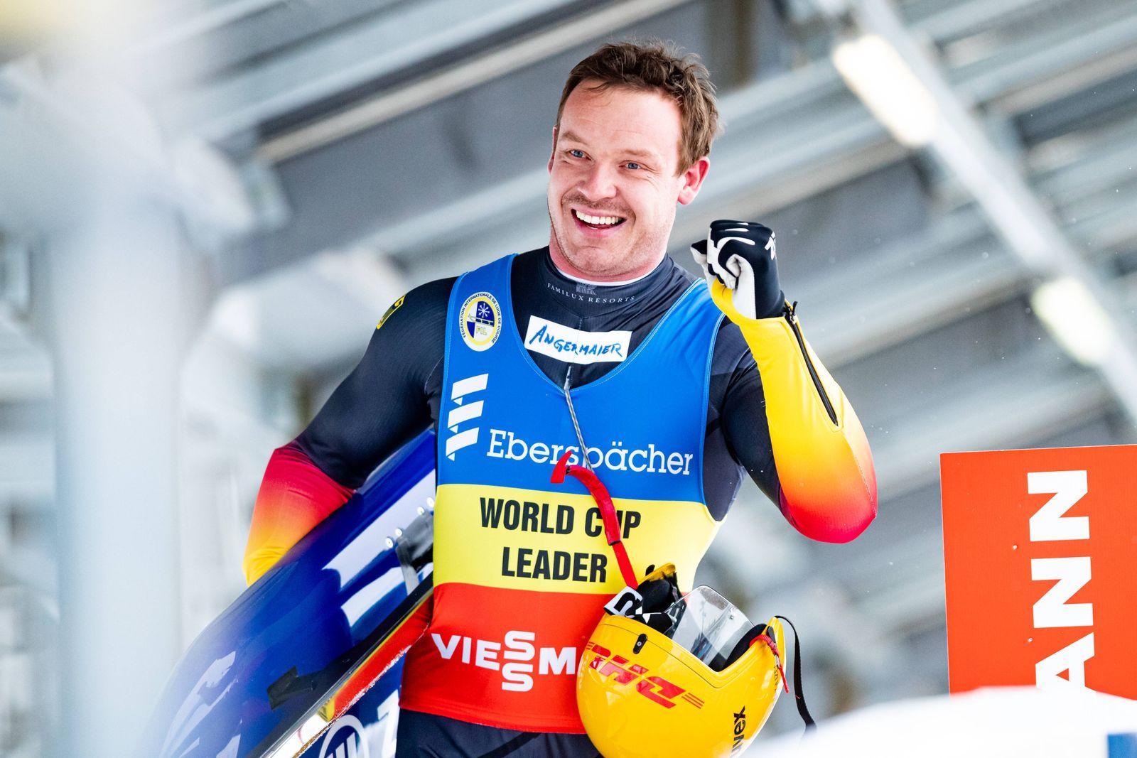 Sport Themen der Woche KW02 Sport Bilder des Tages 16.01.2020, GER, Rennrodel Weltcup Men Competition, Saison 2020/2021