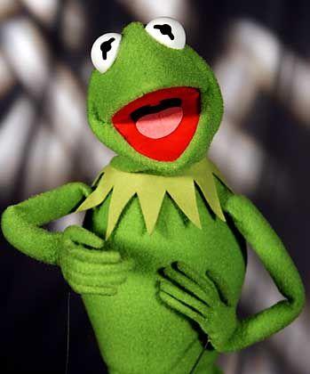 Kermit der Frosch: Zum 50. Geburtstag bestens gelaunt