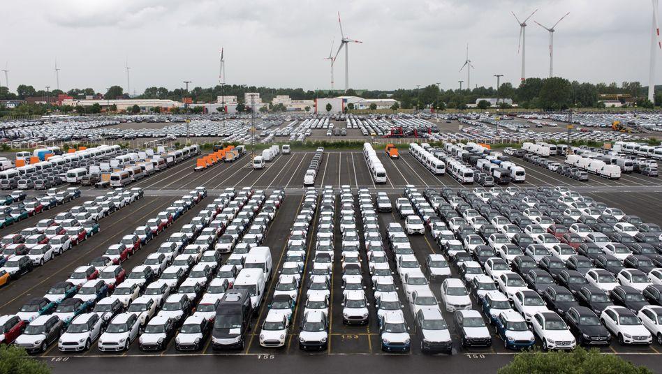 Rund 60.000 Arbeitsplätze in der Autoindustrie wären von einem Brexit betroffen