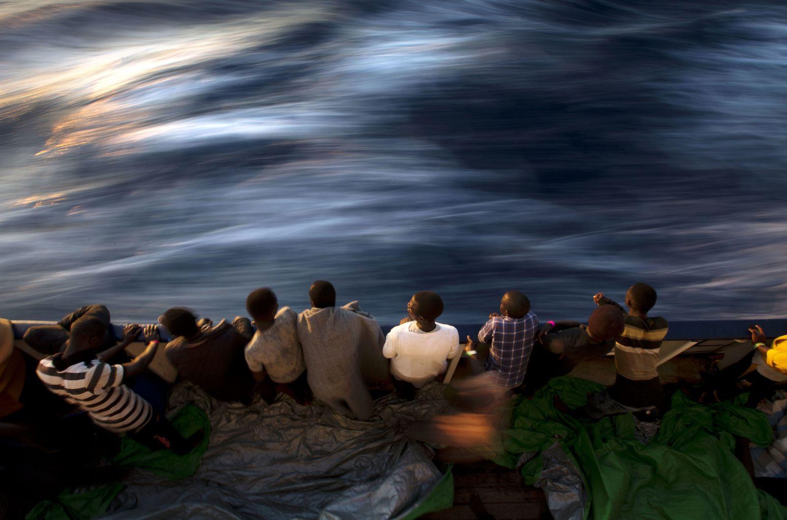 Weniger Flüchtlinge