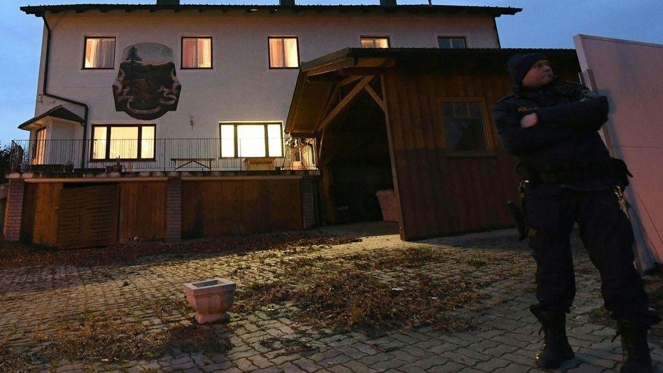 Fundort der Leichen in Schildberg bei Böheimkirchen