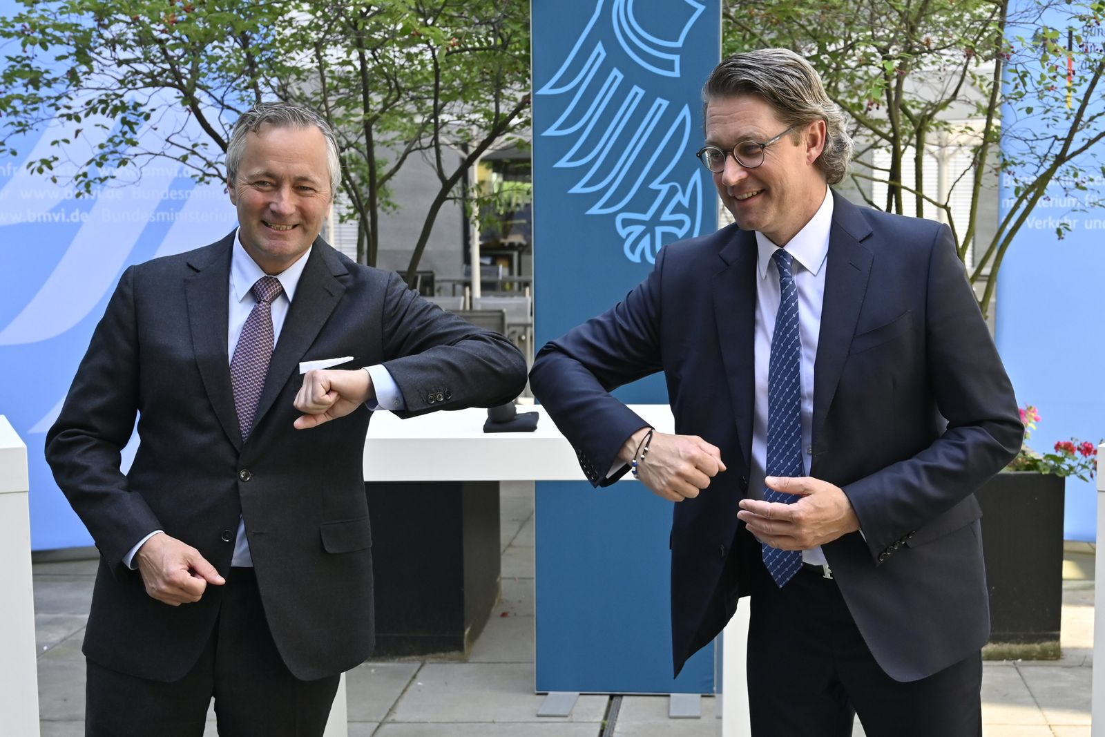 Mobilfunkgipfel bei Bundesverkehrsminister Scheuer