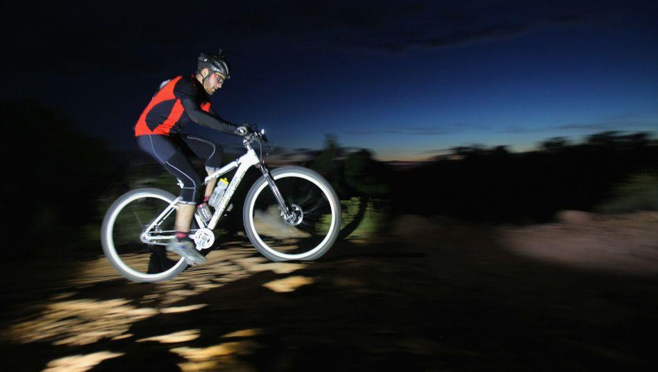 """Mountainbiker: """"Wenn ich wirklich richtig müde bin, hilft auch Sport nicht mehr"""""""