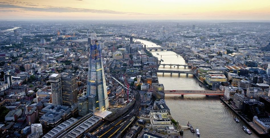 »Shard«-Baustelle in London: Die Stadt für Jahrhunderte verändern
