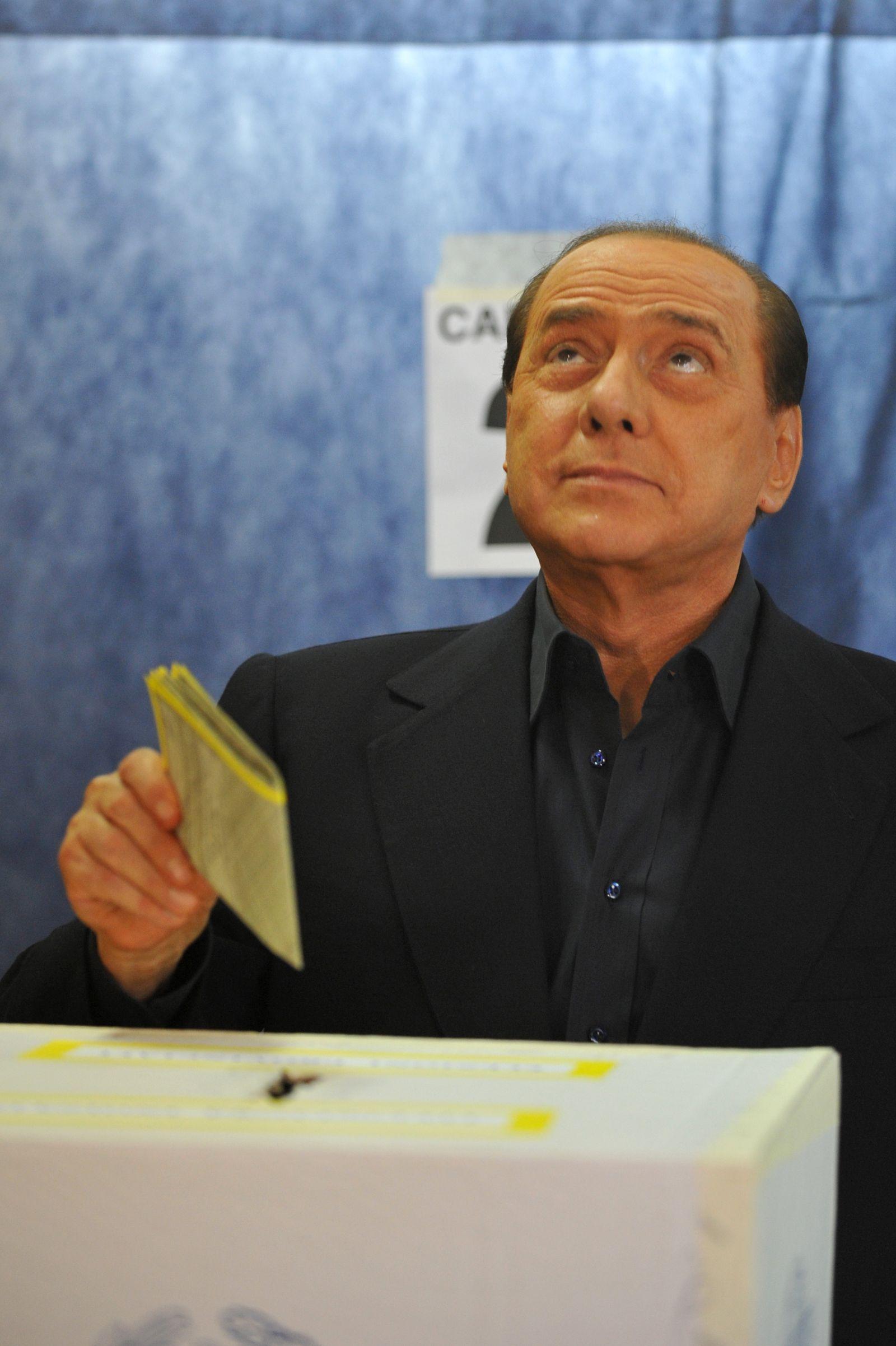 Silvio Berlusconi Europawahl