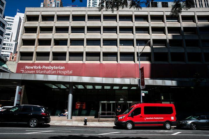 Krankenhaus in Manhattan: Hier wurde Epstein für tot erklärt